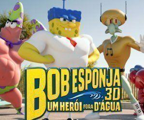 Baixar Bob Esponja: Um Herói Fora D'Água (2015) Dublado e Legendado