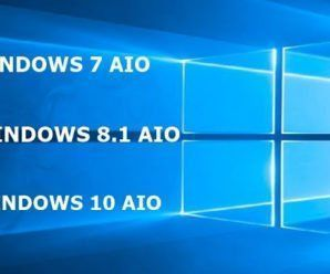 Baixar Windows AIO 7, 8.1 e 10 PT-BR